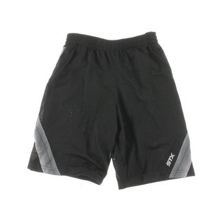 STX Boys Mesh Color Inset Athletic Shorts - 10/12