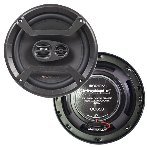 """Orion CO653 6.5"""" 3-Way Cobalt Series Car Audio Speakers - Pair"""