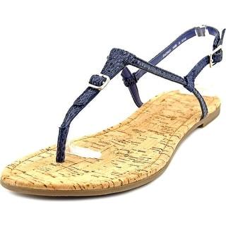 Cole Haan Britt Sandal Women Open-Toe Leather Slingback Sandal