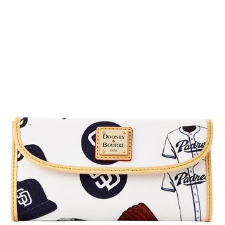 Dooney & Bourke MLB Padres Continental Clutch (Introduced by Dooney & Bourke at $128 in Feb 2014)