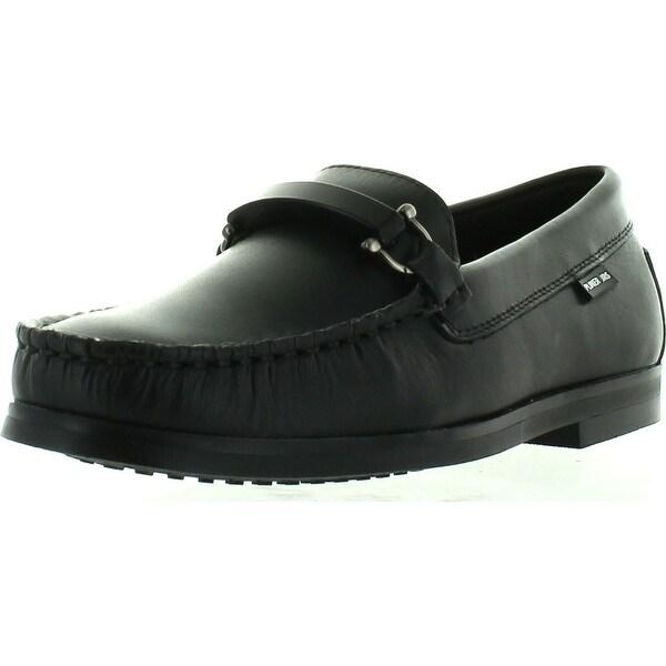 Donald Pliner Jrs Pl55-Fred Dress Casual Designer Slip On Boys Shoes