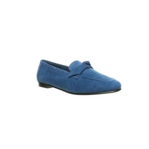 Alexandre Birman Womens Becky Blue Loafers EUR 35.5