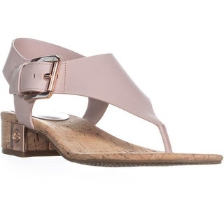 MICHAEL Michael Kors London Thong Lasered Sandals, Soft Pink - 7.5 us / 37.5 eu