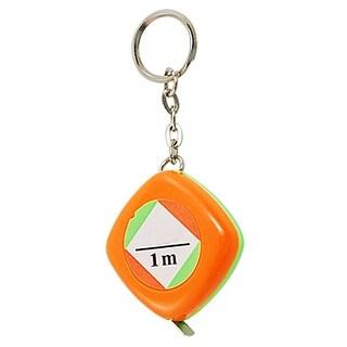 """Unique Bargains Unique Bargains 4/5"""" Width 1M Length Orange Green Mini Measure Tap New"""