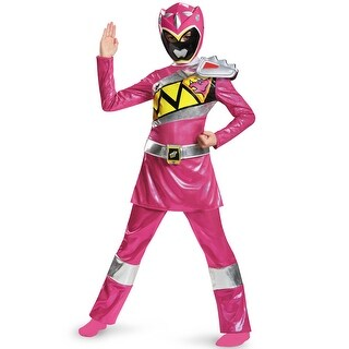 Disguise Pink Ranger Dino Charge Deluxe Child Costume