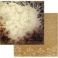 """Golden Frame - Hearts Ease Double-Sided Paper 12""""X12"""" (5/Pack)"""