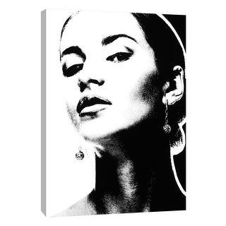 """PTM Images 9-105340  PTM Canvas Collection 10"""" x 8"""" - """"Girl 2"""" Giclee Women Art Print on Canvas"""