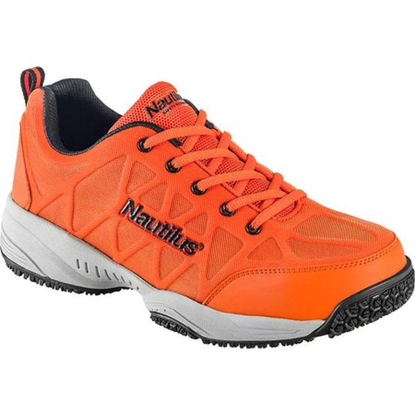 Shoe Orange Mesh/Leather - Overstock