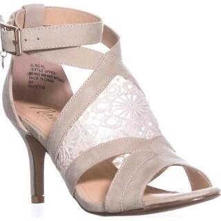 Nanetta Nanette Lepore Bliss T-Strap Sandals, Natural