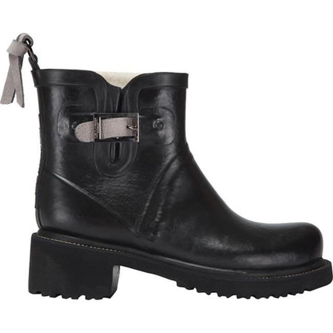d7fba5120c86 Shop Ilse Jacobsen Women s Rub 60 Short Rubber Boot Black Grey ...