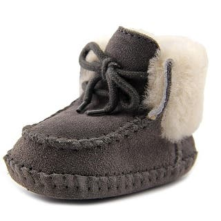 Ugg Australia Sparrow Infant Round Toe Suede Snow Boot|https://ak1.ostkcdn.com/images/products/is/images/direct/930308cbd56227b3d7616a38f01ee7025fd224e7/Ugg-Australia-Sparrow-Infant-Round-Toe-Suede-Gray-Snow-Boot.jpg?impolicy=medium