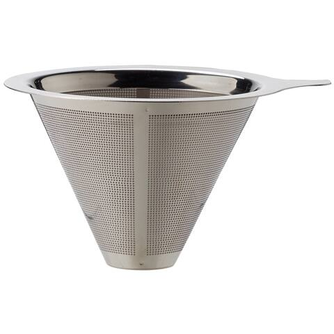 Harold Import 43782 Pour Over Coffee Filter, Stainless Steel