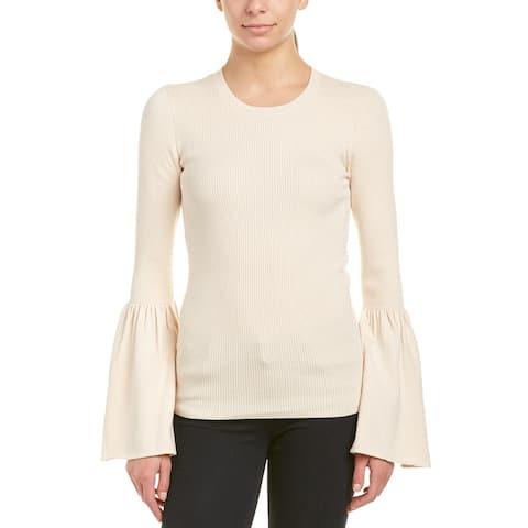 Bcbgmaxazria Bell-Sleeve Wool-Blend Sweater