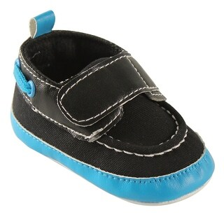 Luvable Friends Baby bright boys boat crib shoe Buckle Loafers