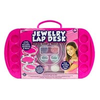 Horizon Group Jewelry Lap Desk - Pink - 10.0 in. x 2.0 in. x 16.0 in.