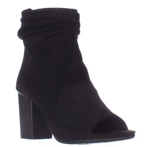 Kenneth Cole REACTION Fridah Cool Peep Toe Ankle Booties, Black