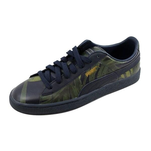 Shop Puma Men's Basket X HOH Palm Total 8 Eclipse/Green 358470 01 Size 8 Total - On Sale - - 21893308 3629a3