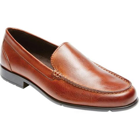 Rockport Men's Classic Loafer Lite Venetian Cognac Leather