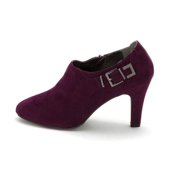 Karen Scott Womens Neomi Almond Toe Ankle Fashion Boots - 10