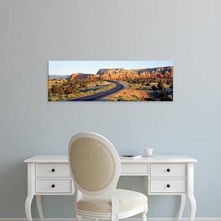 Easy Art Prints Panoramic Images's 'Route 84 NM USA' Premium Canvas Art