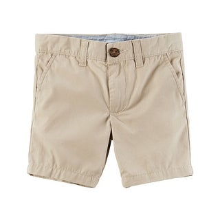 Carter's Little Boys' Flat-Front Canvas Shorts, 5-Kids
