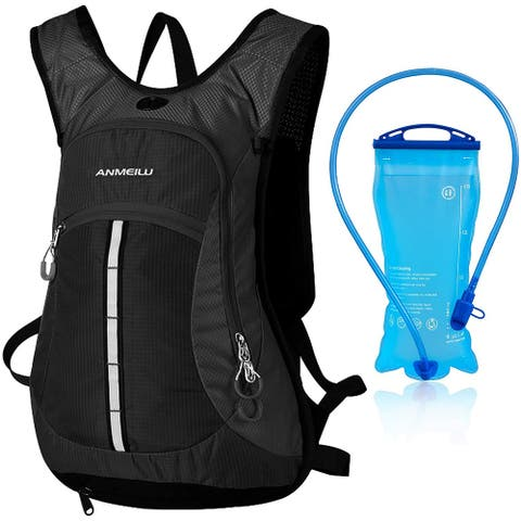 Hydration Pack with 2L Bladder Large Storage 2L Hydration Backpack