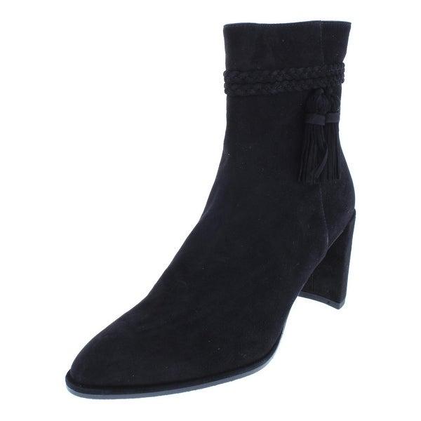 a511025ec045 Shop Stuart Weitzman Womens Tazzie Booties Suede Ankle - 6.5 Medium ...