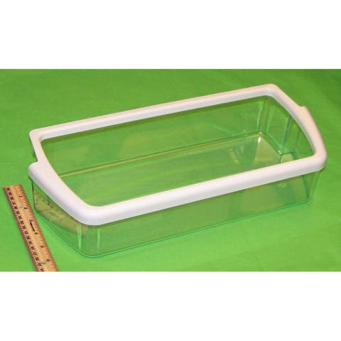 NEW OEM Whirlpool Refrigerator Door Bin Basket Shelf Originally Shipped With ED5FHAXSQ02, ED5FHAXSS02, ED5FHGXSQ00