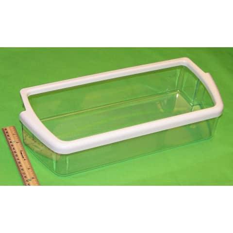 NEW OEM Whirlpool Refrigerator Door Bin Basket Shelf Originally Shipped With ED5RHGXMT00, ED5VBEXTQ00, ED5YHEXMS00
