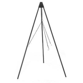 Sunnydaze Firepit Tripod Stand with Solid Steel Legs, 55 Inch Tall