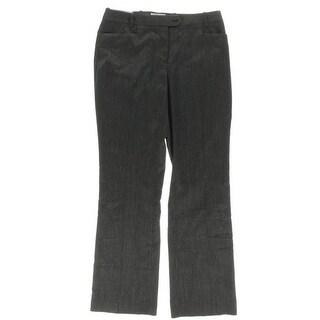 Calvin Klein Womens Casual Pants Plaid Modern Fit
