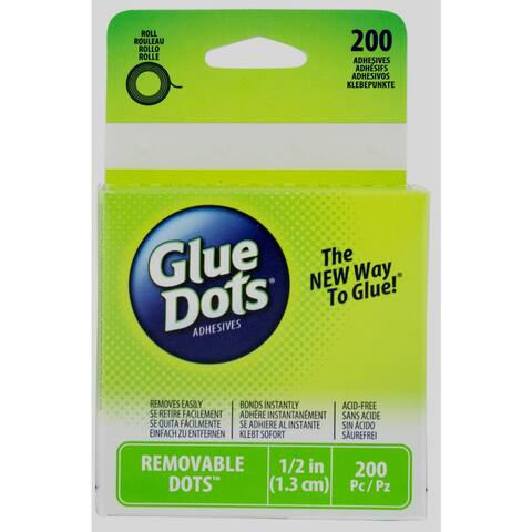 Glue Dots 08248 Removable Adhesive Dots On a Roll