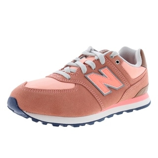 New Balance Girls Beach Cruiser Suede Youth Athletic Shoes