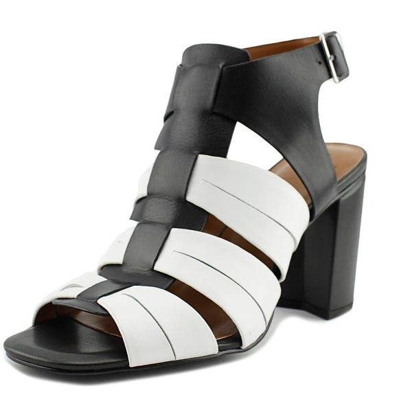 H by Halston Ruby Women Open Toe Leather Multi Color Sandals