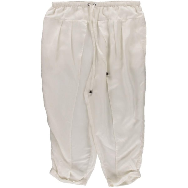 Free People Womens Harem Pants Tencel Blend Pleated
