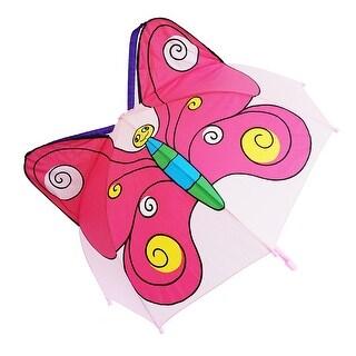 Kiddi Choice 3D Pop-Up Purple/Pink Butterfly Cute Umbrella