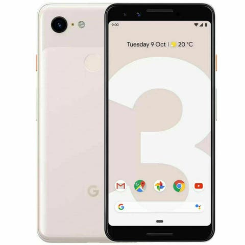 GOOGLE PIXEL 3 XL 64GB Not Pink Verizon G013C GSM Unlocked Smartphone - Not Pink