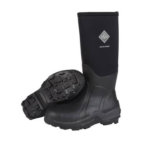 The Original Muck Boot Company Arctic Sport Men's Boots 9 US Black
