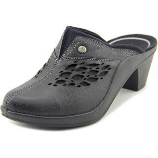 Romika Mokassetta 283 Round Toe Leather Clogs