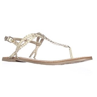 American Rag Keira Braided Thong Flat Sandals