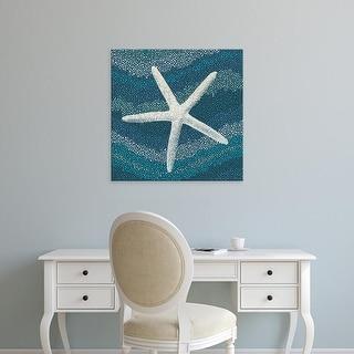 Easy Art Prints Alan Blaustein's 'Sea Glass IV' Premium Canvas Art