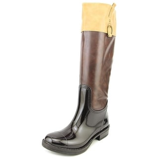 Nomad Moto Women Round Toe Synthetic Rain Boot