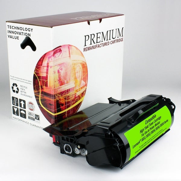Re Premium Brand replacement for Lexmark X651 Toner (25,000 Yield)