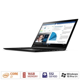 "Lenovo 20FQ002YUS Thinkpad Ultrabook 14"" WQHD Multitouch intel core i7-6600U"