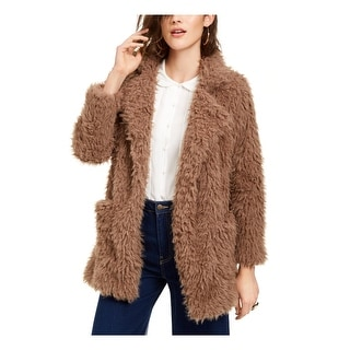 Link to SAGE Womens Beige Faux Fur Coat  Size XS Similar Items in Women's Outerwear