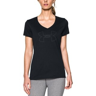 Under Armour Womens Pullover Top Graphic Short Sleeve - XS