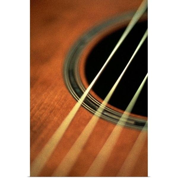 """""""Guitar"""" Poster Print"""
