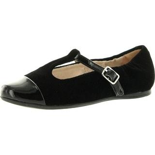 Venettini Girls 55-Annie T Strap Dress Shoes