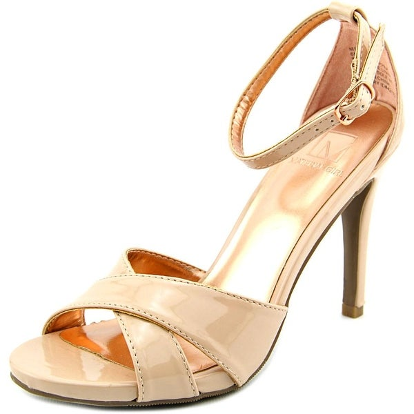 Material Girl Sara 1 Women Open Toe Synthetic Sandals
