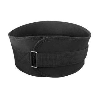 Unique Bargains Black L Size Unisex Adjustable Lumbar Lower Waist Back Support Brace Belt Strap